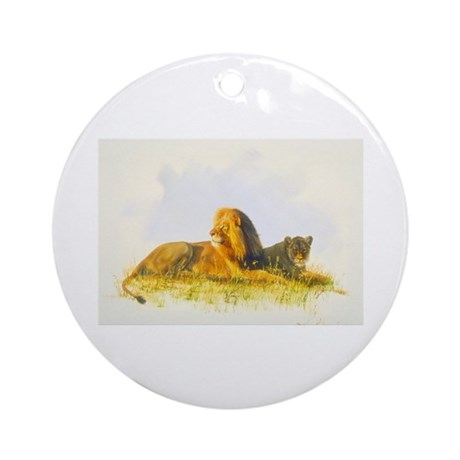 Animal Ornament (Round)