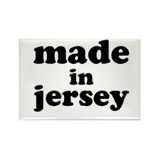 Made in Jersey Rectangle Magnet (10 pack)