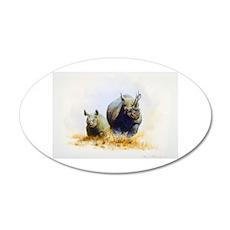 Animal 22x14 Oval Wall Peel
