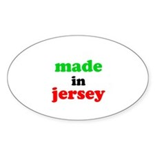 Made in Jersey Decal