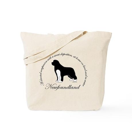 Devoted Irish Spotted Newf Tote Bag