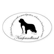 Devoted Irish Spotted Newf Decal