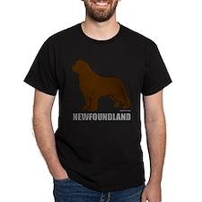 Brown Newfoundland T-Shirt