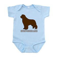 Brown Newfoundland Infant Bodysuit
