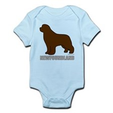 Brown Newfoundland Onesie