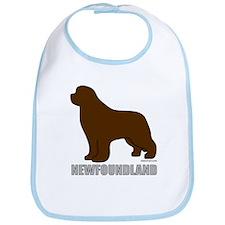Brown Newfoundland Bib