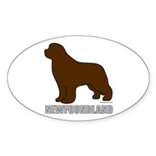 Brown Newfoundland Decal