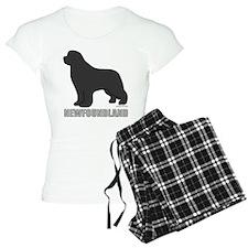 Gray Newfoundland Pajamas