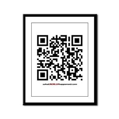 QR Framed Panel Print