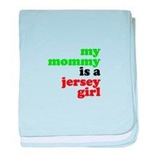 My Mommy is a Jersey Girl baby blanket