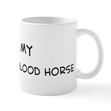I Love Dutch Warmblood Horse Mug