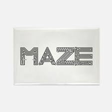 Maze Rectangle Magnet