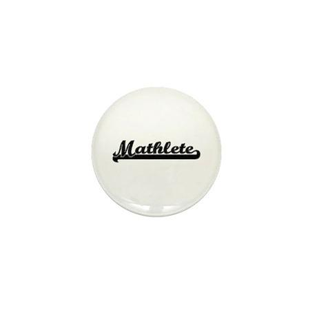 Mathlete Mini Button