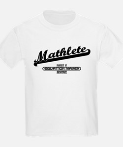 Mathlete Sports Kids T-Shirt