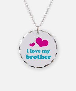 I Love My Brother Necklace