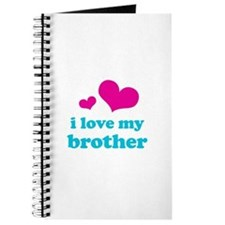 I Love My Brother Journal