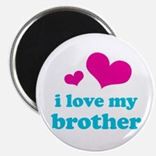 """I Love My Brother 2.25"""" Magnet (10 pack)"""