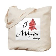I Heary Mehndi Tote Bag