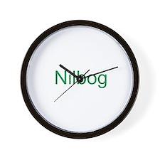 Nilbog Trollb 2 Wall Clock