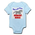 Ride With Pride Arabian Horse Infant Creeper