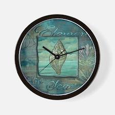 Cute Sand dollar Wall Clock