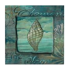 Cute Sand dollar Tile Coaster