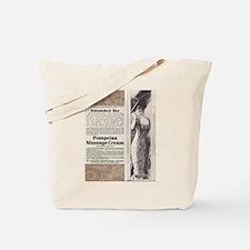Pompeian Cream 1909 ad Tote Bag
