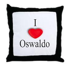 Oswaldo Throw Pillow