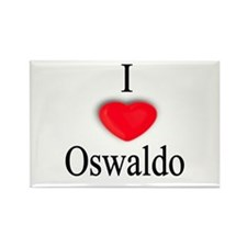 Oswaldo Rectangle Magnet