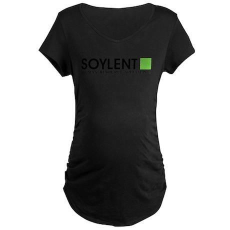 Soylent Human Resources Maternity Dark T-Shirt
