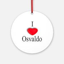 Osvaldo Ornament (Round)