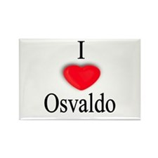 Osvaldo Rectangle Magnet (10 pack)