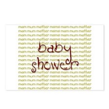 Baby Shower Postcards (Package of 8)