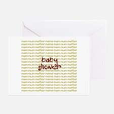 Baby Shower Greeting Cards (Pk of 10)