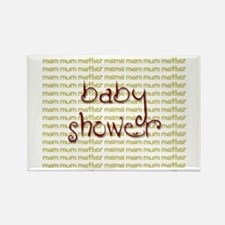 Baby Shower Rectangle Magnet
