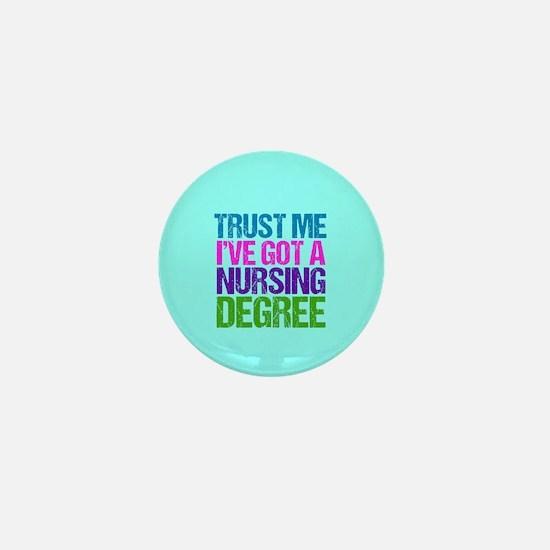 Trust Me Nurse Mini Button