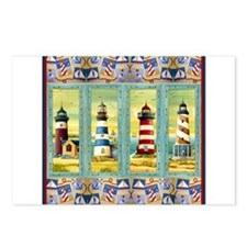 Cool Cape cod lighthouses Postcards (Package of 8)