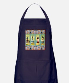 Unique Beach house Apron (dark)
