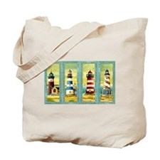Unique Lighthouse Tote Bag