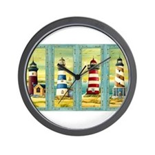 Cute Lighthouse Wall Clock