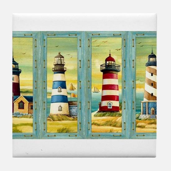 Cool New england Tile Coaster