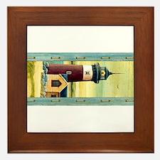 Funny Cape cod lighthouses Framed Tile