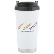 WOM, W3E, List Logos Travel Mug