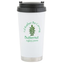Rather Be Carving Butternut Travel Mug