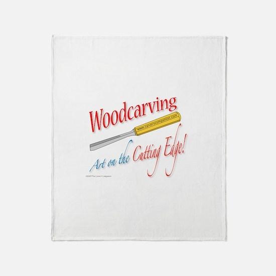 Cutting Edge v2 Throw Blanket