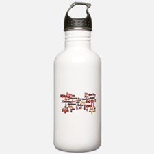 Much Ado About Nothing Water Bottle