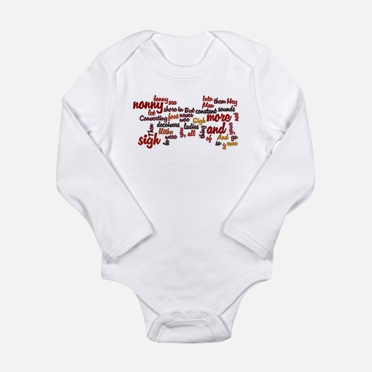 Much Ado About Nothing Long Sleeve Infant Bodysuit