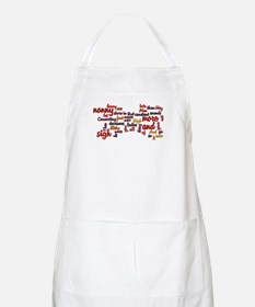 Much Ado About Nothing Apron