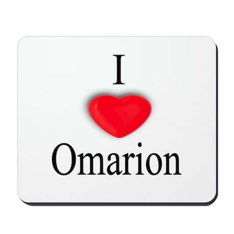 Omarion Mousepad