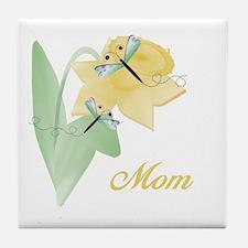 Mom (dragonfly) Tile Coaster